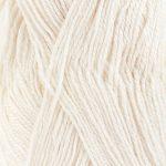DROPS Baby alpaca silk 1101 - Hvit