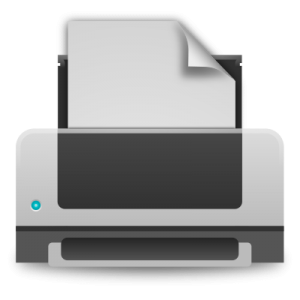 Skriver icon