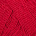 Viking garn heklegarn 850 - rød