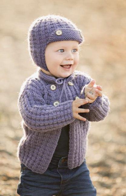 Winter Baby Sett Strikkepakke