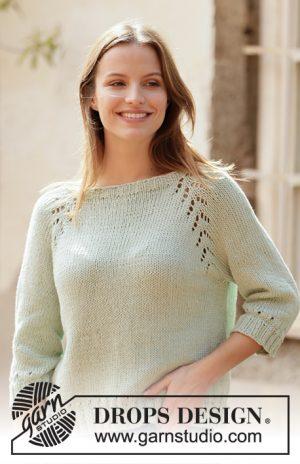 Drops Mint Tea Sweater 210 - 19
