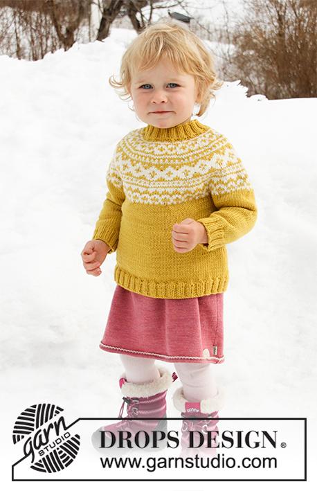 Little Missy Genser Strikkepakke Strikk.no