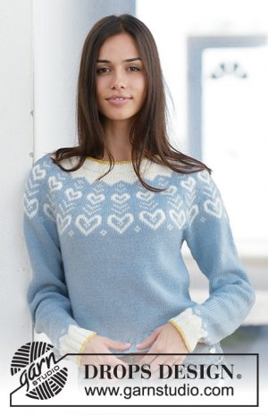 Drops Dear to my Heart Sweater 199 - 7