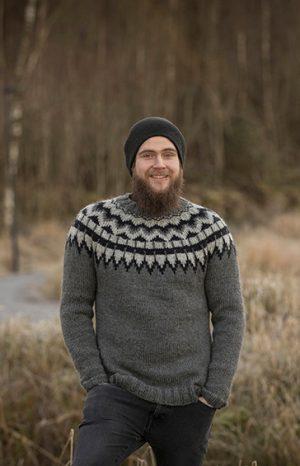 Viking Aspen Genser Grå
