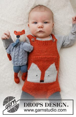 Drops Baby Fox Onesie